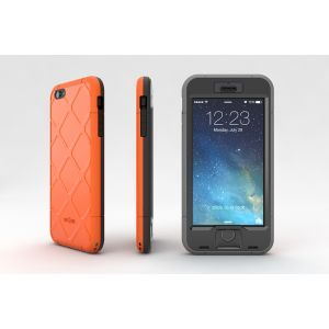 Wetsuit IP6 Plus Orange 3views