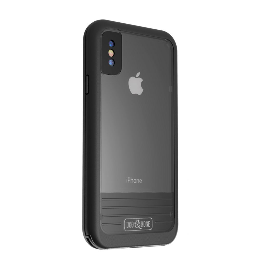 Wetsuit Impact for iPhone X - Blackest Black