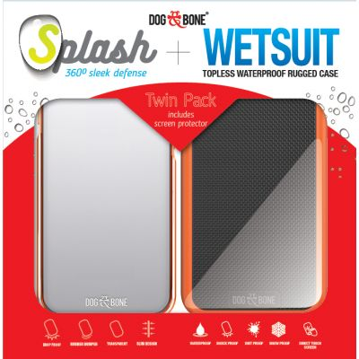 Splash+Wetsuit Twin Pack for iPhone 7