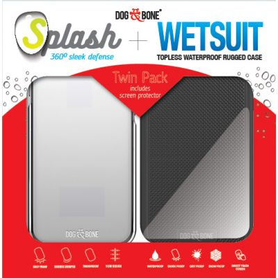 Splash + Wetsuit Twin Pack for iPhone 7 Plus