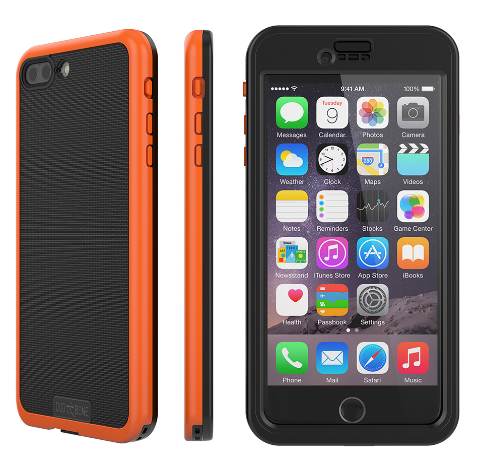 Wetsuit Impact For Iphone 7 Plus Waterproof Rugged Case