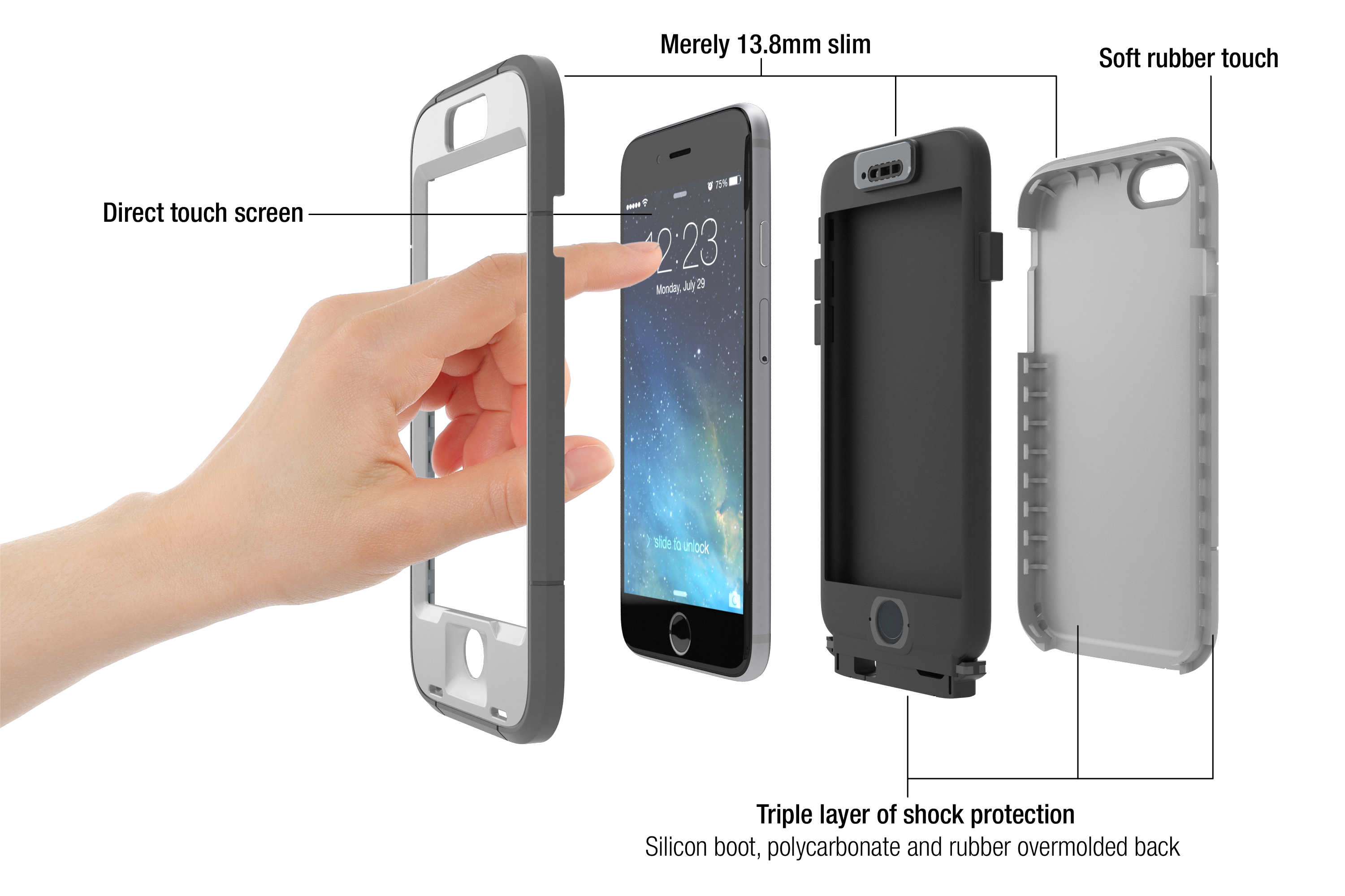 iphone 6 touch screen case